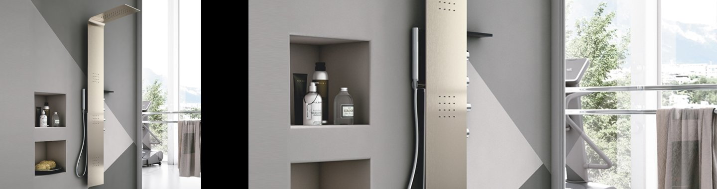multifunctional shower column